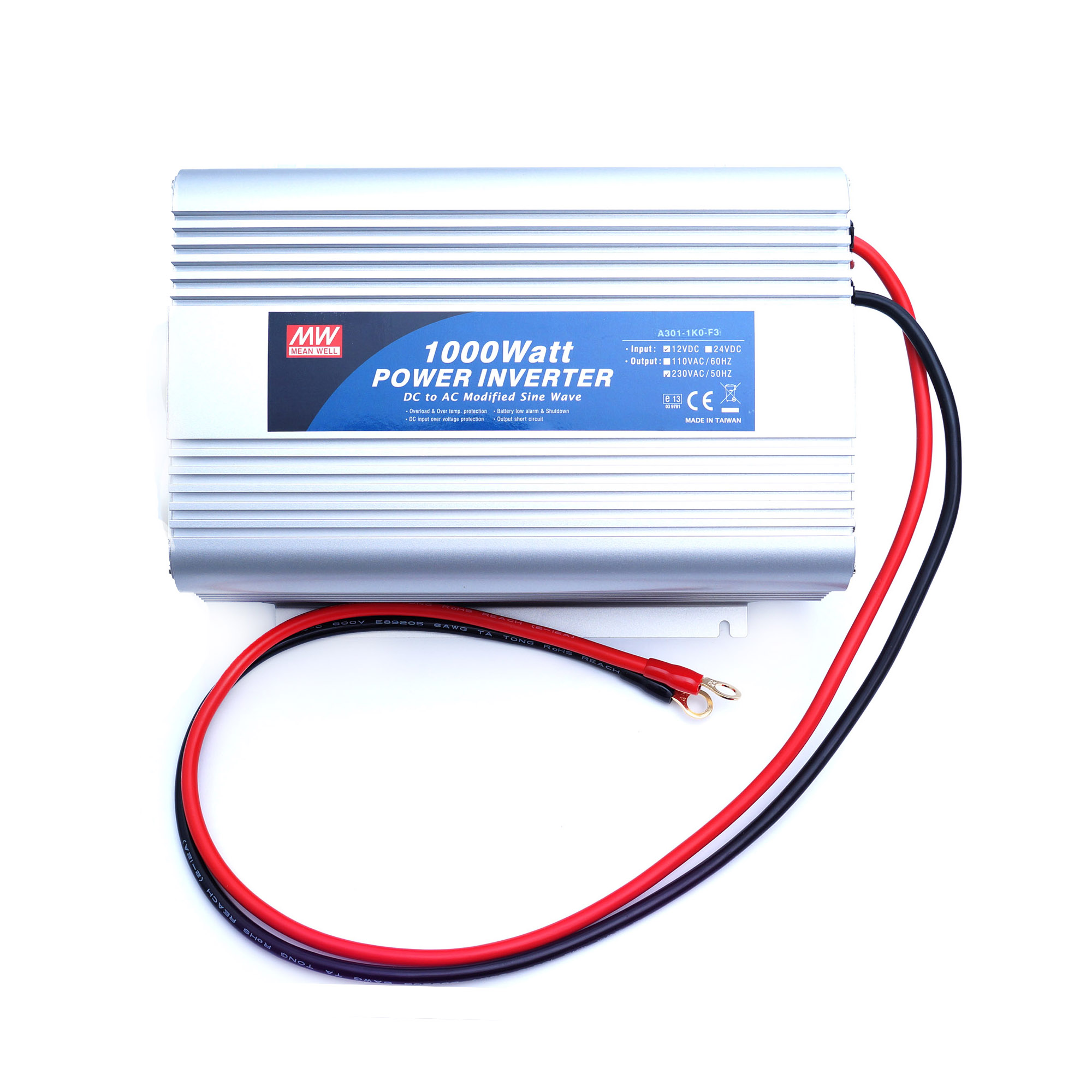 Инвертор 12-220V 1000W Mean Well